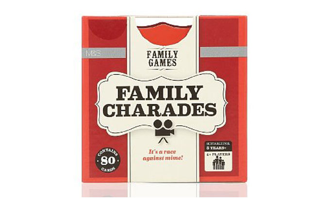 Charades box set from Marks & Spencer
