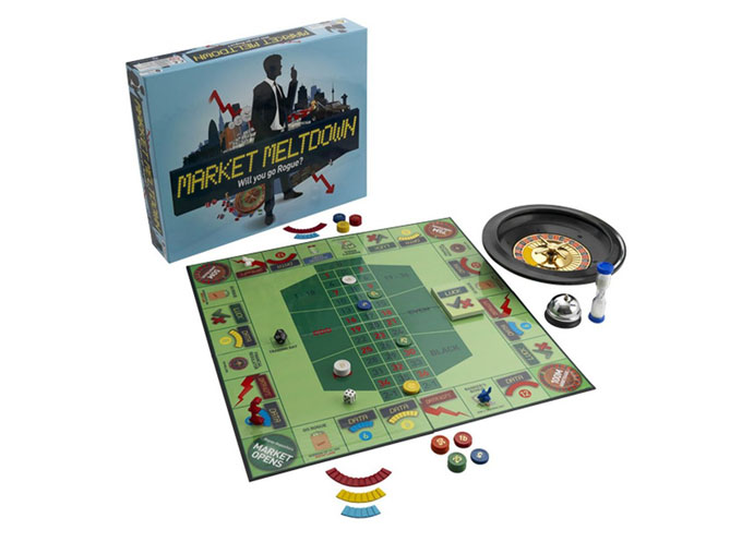 Market Meltdown stockbroker board game