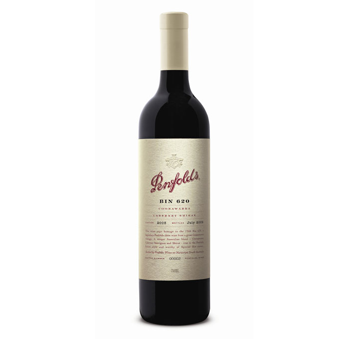 Bottle of Penfolds Bin 620 2008 75cl red wine