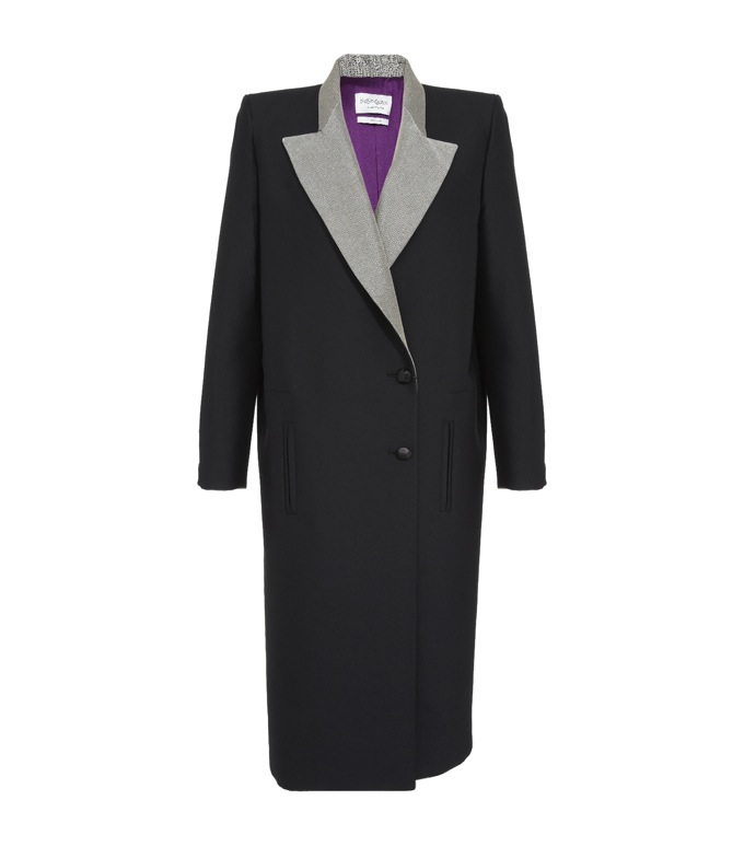 YSL Winter Coat £2, 699 from Harrods.com