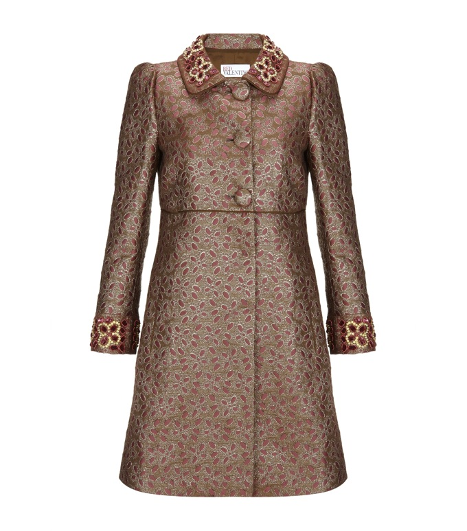 Red Valentino Winter Coat £850 From Harrods.Com