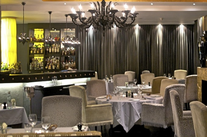 Moreno at Baglioni dining room