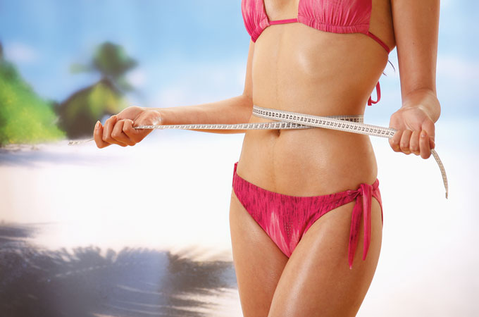 How to lose weight and get in shape with the perfect beach body
