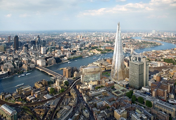 The Shard panorama