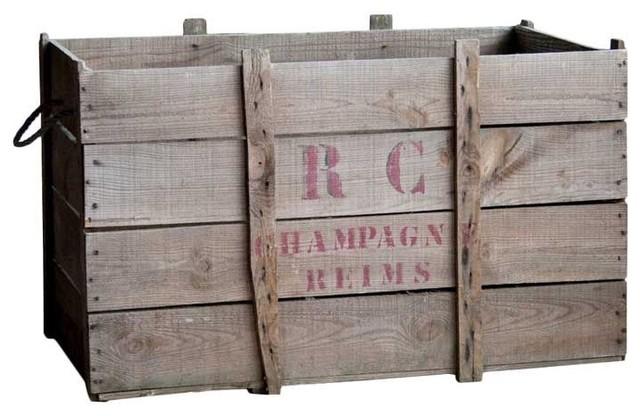 champagne crate