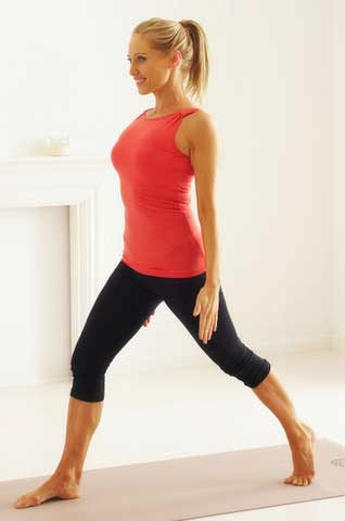 get in shape lunge
