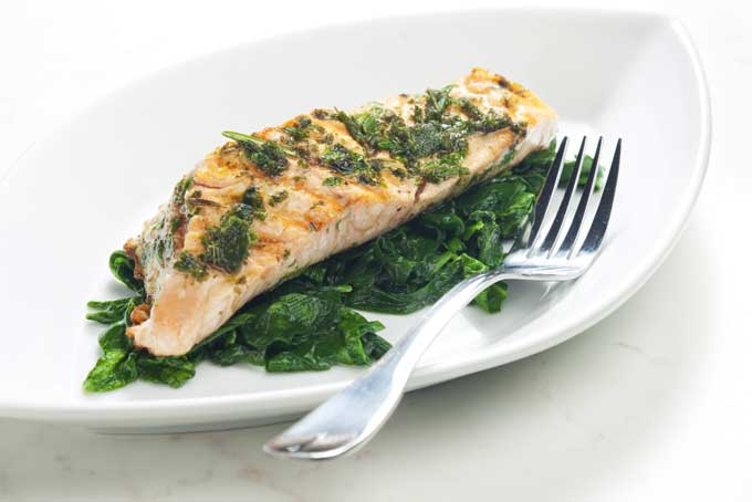 get in shape salmon dish