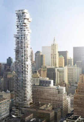 56 Leonard Street: luxury apartments in New York&#8217;s &#8216;Jenga&#8217; building