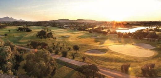 Luxury golf resort in Sardinia