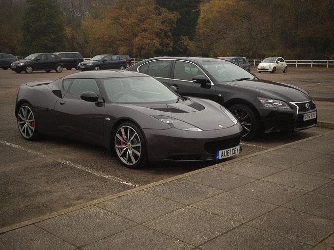 Lotus Evora S at Lotus Hethel Factory