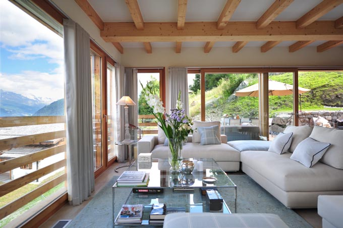Luxury escape of the day valais switzerland lodge rental for Hotel design valais