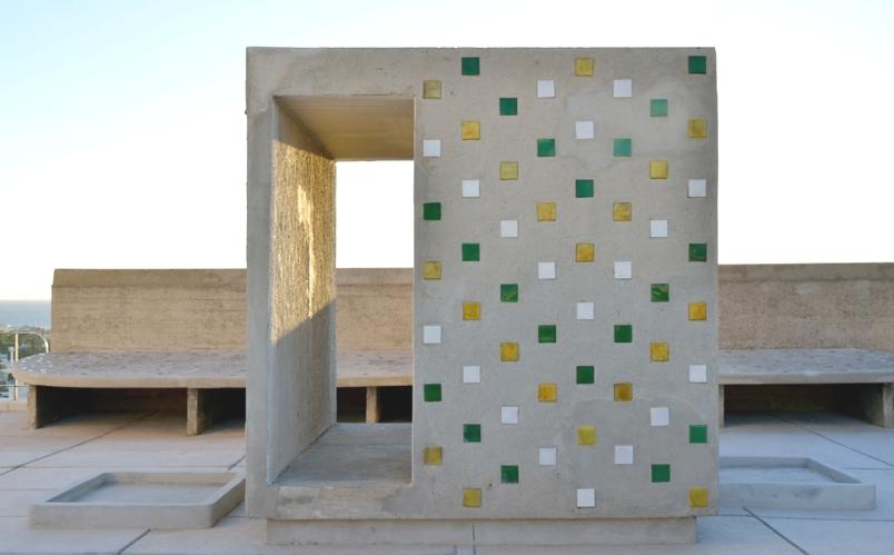 Le Corbusier terrace