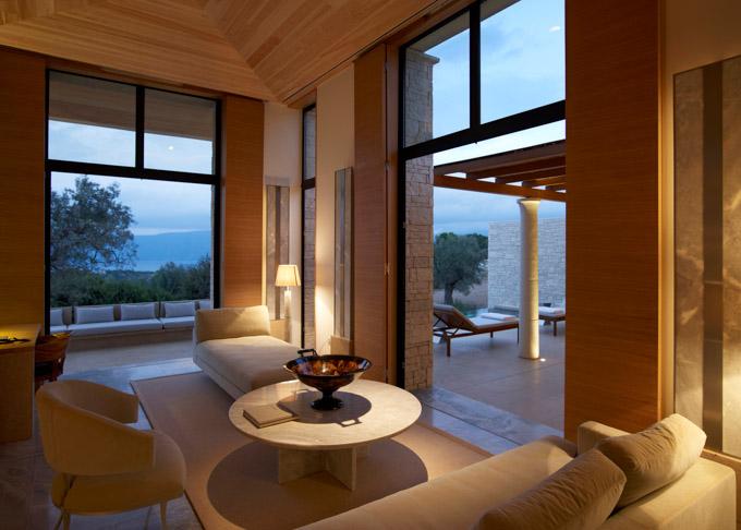 Aman Villas - Amanzoe -Pavilion interior