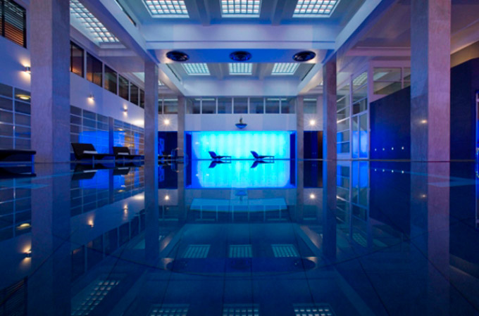 Dolphin Square indoor swimming pool