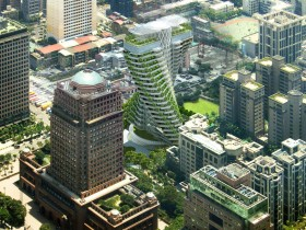 The Agora Garden: Taipei's Eco-Friendly Luxury Skyscraper