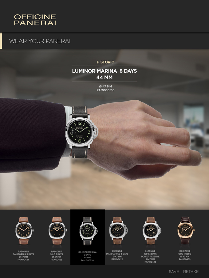 Panerai Catalogue - iPad App