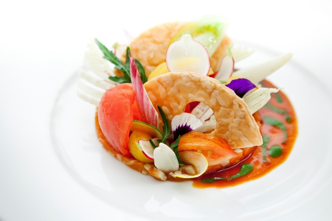 Alain Ducasse Floral Lunch Menu
