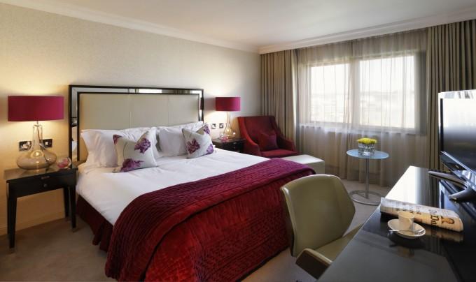 The Bristol Hotel - deluxe room