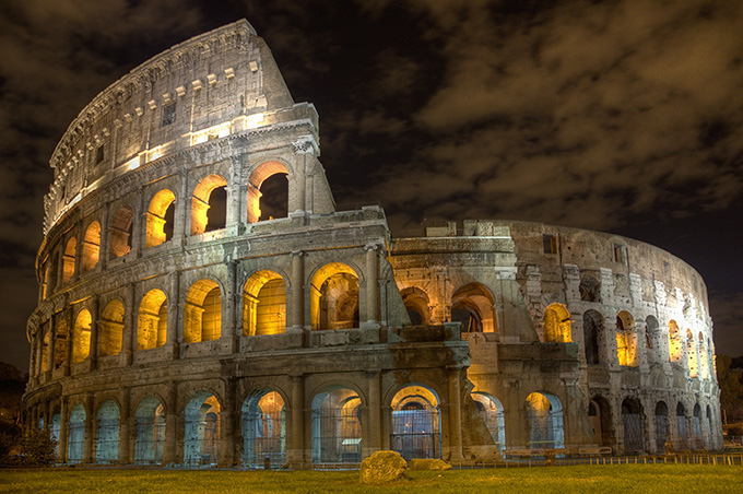 Coliseum by Moonlight