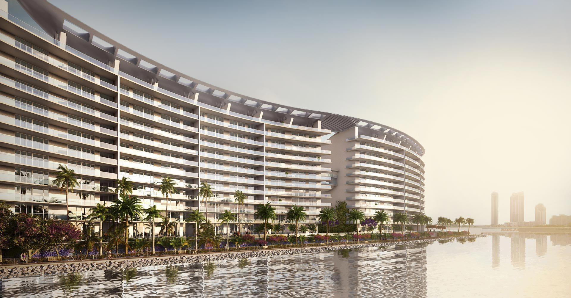 Rendering of the new residential project in Miami