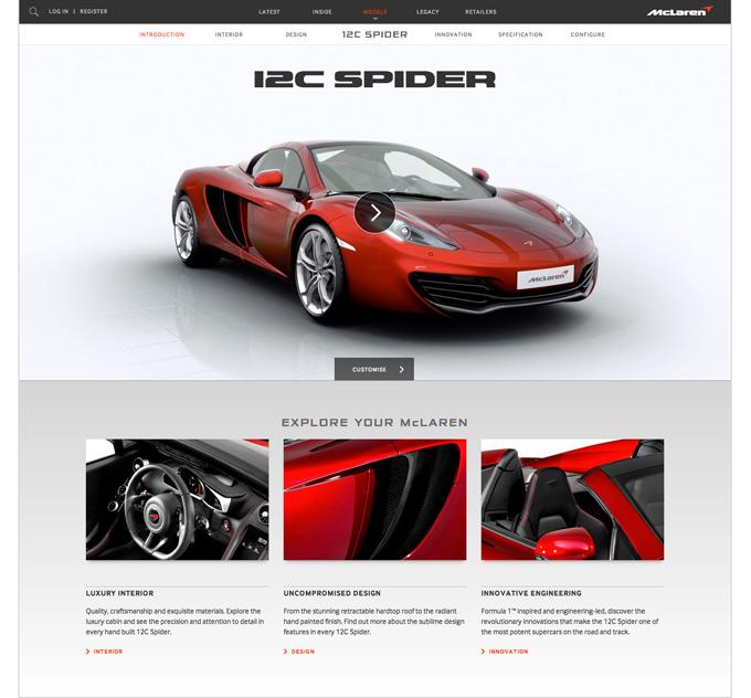McLaren 12CSpider Intro