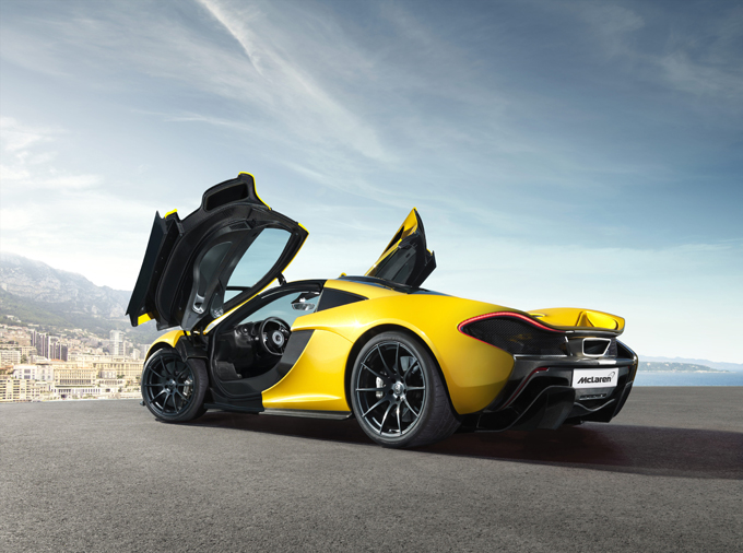 McLaren P1 Monaco