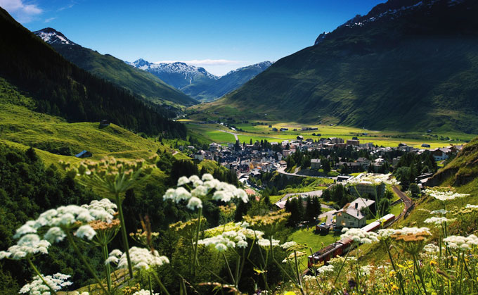 Alpine Resorts Andermatt Summer