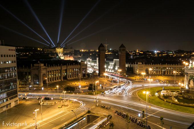 Barcelona by Night Spain