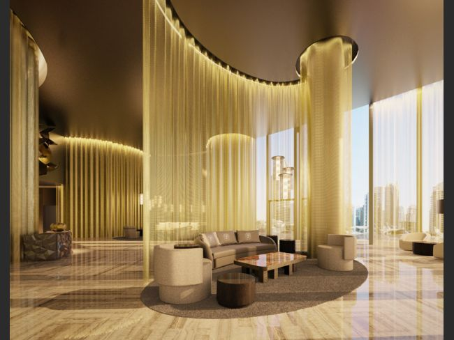 Damac residences fendi casa designs interior of luxury for Casa interior design