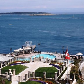 Oak Bay Beach Hotel View