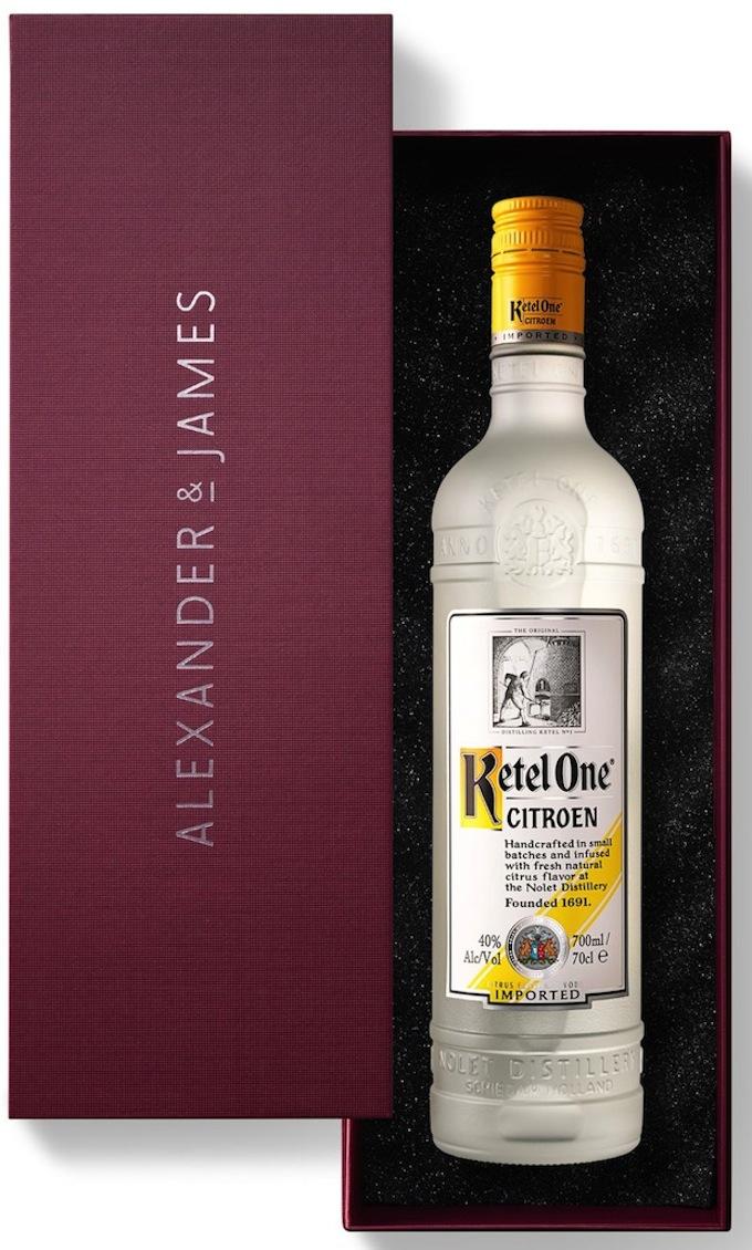 Alexander & James Ketel One Citroen Vodka