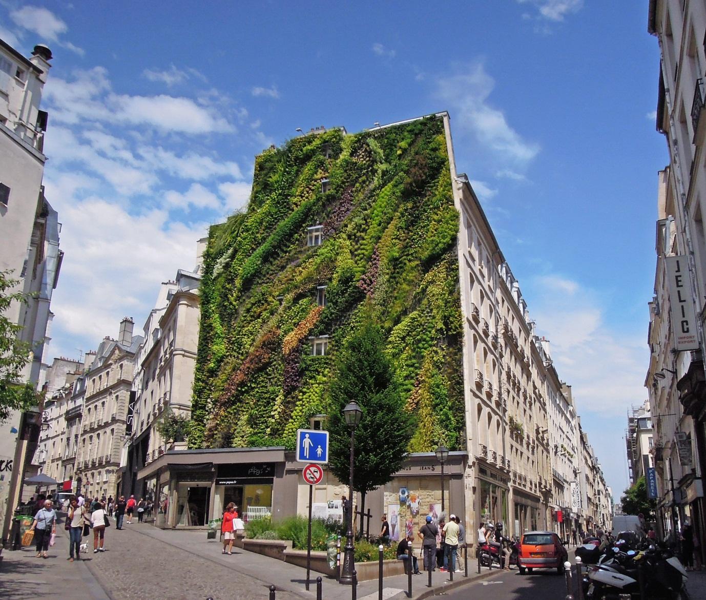 Patrick Blanc's vertical garden