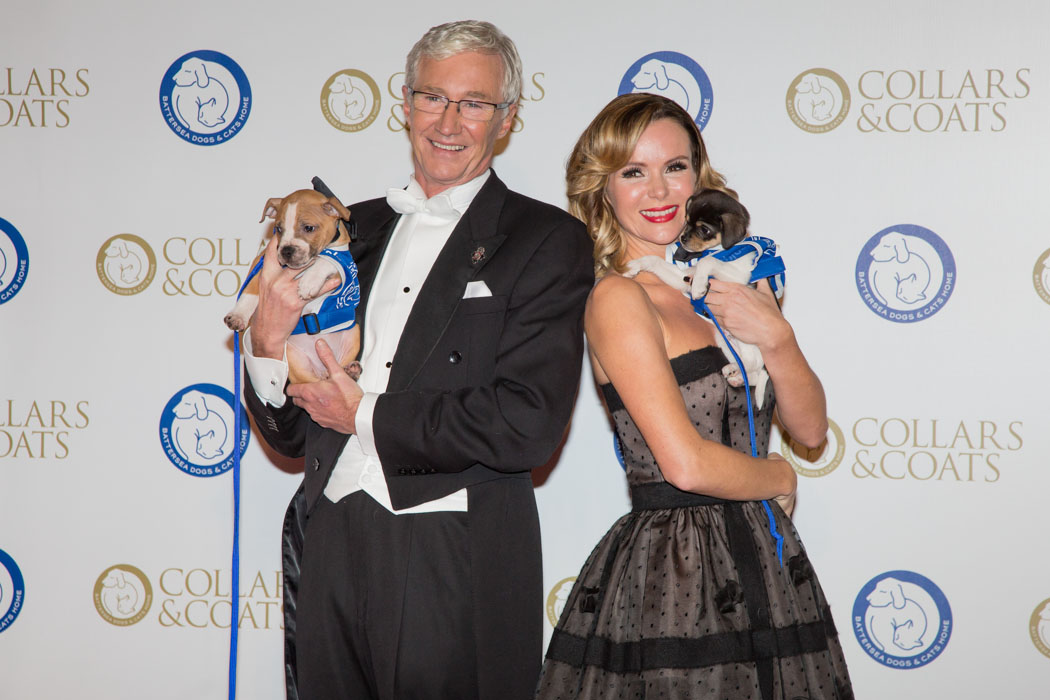 Paul O'Grady & Amanda Holden at Battersea Dogs & Cats Home Collars & Coats Gala Ball 2013
