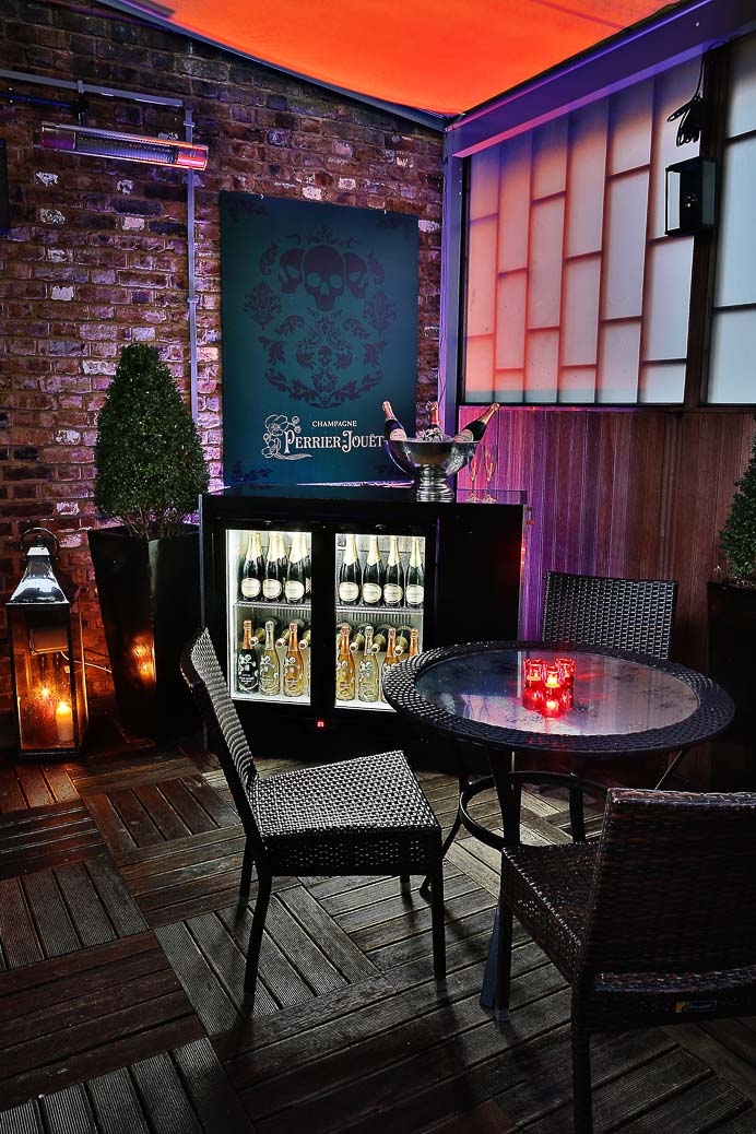 Perrier-Jouet Roof Terrace at Sanctum Soho Hotel