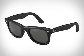 Leather Ray-Ban Wayfarers