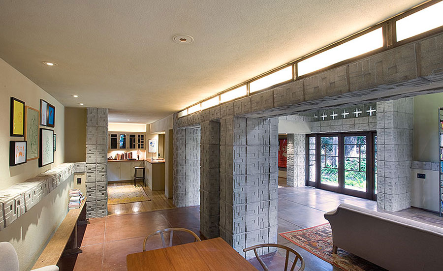 Millard House by Frank Lloyd Wright