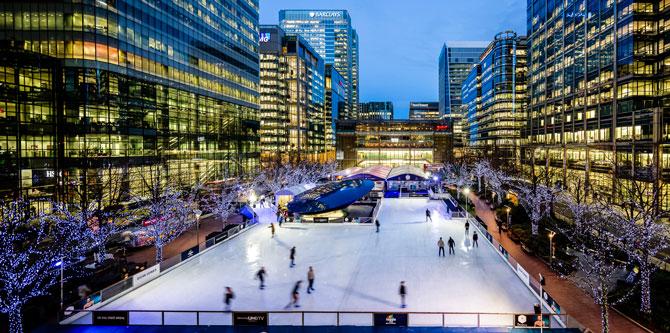 Canary Wharf Ice Rink