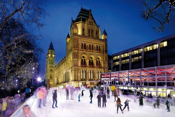 Natural History Museum Ice Rink, London