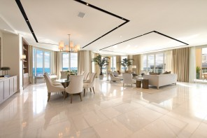 Oceanfront Penthouse Selling Turnkey to Highest Bidder