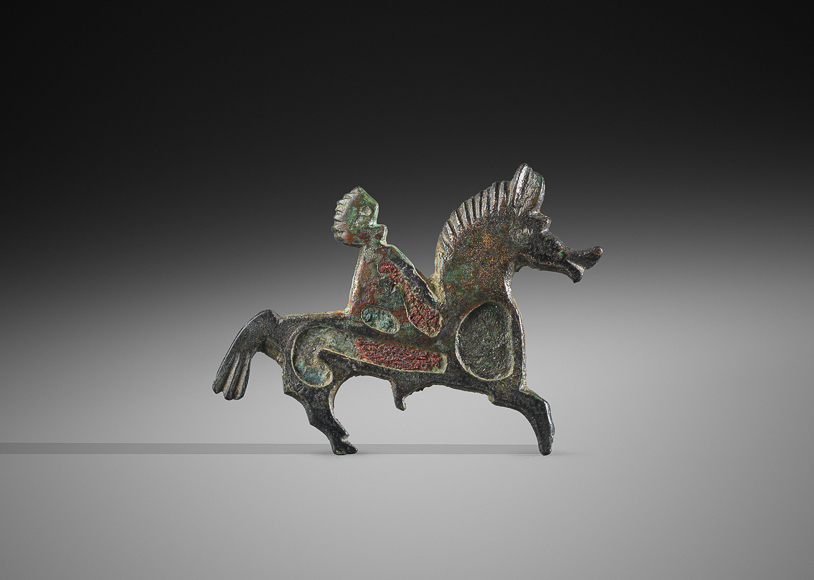 Rupert Wace Ancient Art_Horse and rider