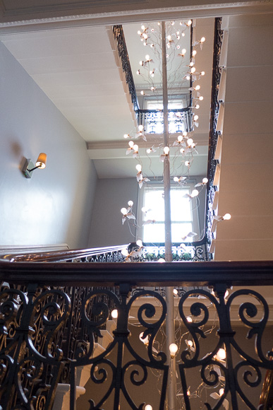 The Ampersand Hotel South Kensington staircase