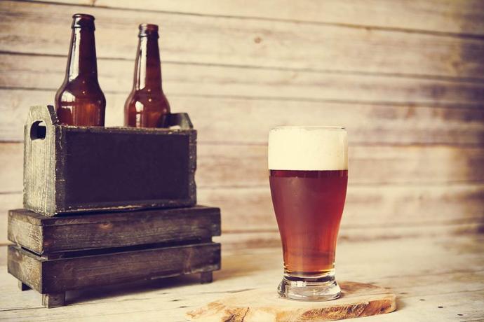 The Tasting Room beer shot