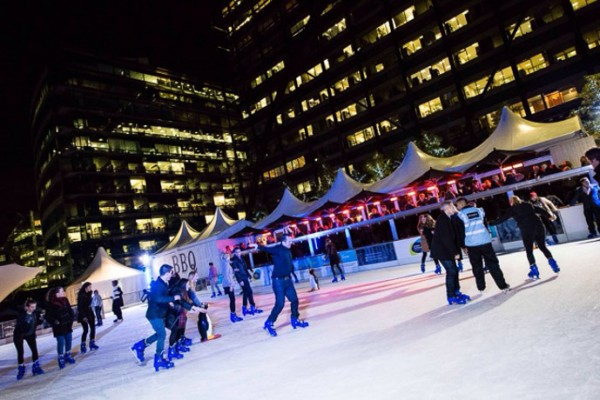 The Tasting Room ice rink