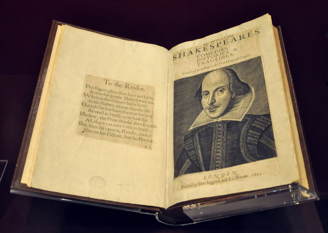 Collectible books First Folio VA