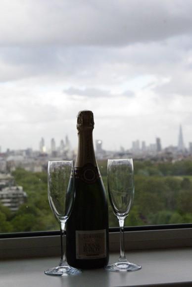 Lancaster London champagne