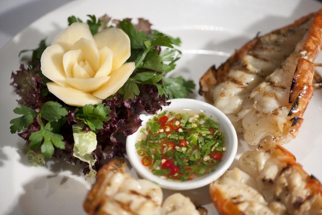 lobster, restaurant, london, review, nipa thai