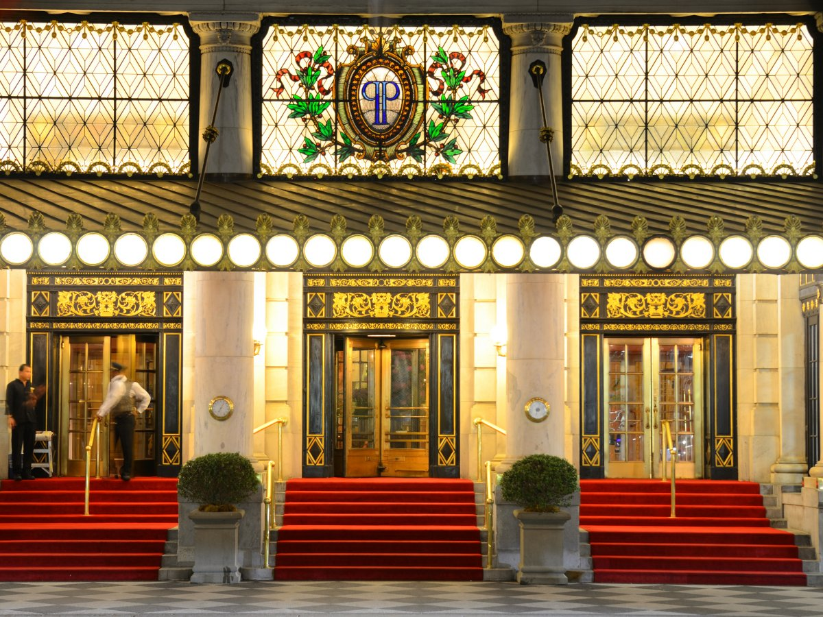 Red Carpet Entrance at The Plaza Hotel
